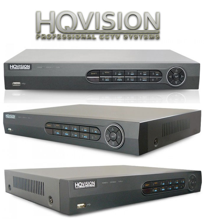Rejestrator cyfrowy HQ-DVR0401HD960 – 4 kanały analogowe 960h + 1 kanał cyfrowy IP